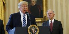 Les relations entre Donald Trump et Jeff Sessions risquent d'être très tendues dans les jours à venir après les déclarations du chef d'Etat à la presse américaine.