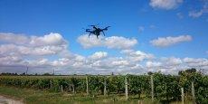 Nous nous occupons de tout, y compris des contraintes de réglementation aérienne. L'agriculteur n'a plus qu'à lancer le vol et puis à consulter les données que nous élaborons pour lui, explique le fondateur, Romain Faroux.
