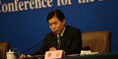 Zhong Shan, le nouveau ministre chinois du Commerce.