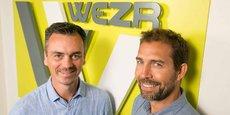 Stéphane Diner et Vincent Crosnier, cofondateurs de Wezr
