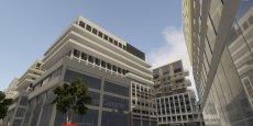 Le futur centre de congrès de Belcier