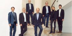 Le groupe fondateur : Alexandra Bellot (trésorière), Mathieu Capela-Laborde (secrétaire), Hugues Dupuy, Antoine Garcia-Diaz (président), Gilbert Gainveng (vice-président), Nicolas Jonquet, Damien Palomba.