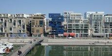 Le quartier de La Confluence à Lyon, terrain d'expérimentation de la ville intelligente. Le financement de l'Etat doit aider les collectivités à imaginer de nouveaux projets innovants.