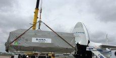 Le satellite Eutelsat 172B est resté bloqué plusieurs jours dans un container climatisé, des conditions équivalentes à une salle blanche, a expliqué Eutelsat.