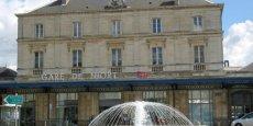 La gare de Niort (Deux-Sèvres), où sera aménagé par BuroStation un espace partagé pour accueillir des entreprises.