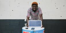 Raymond Sarr a fondé la startup toulousaine Jokosun qui commercialise des kits solaires en Afrique.
