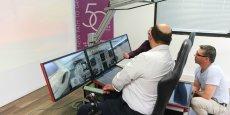 Le centre de formation est notamment équipé d'un simulateur de pilotage