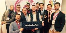 Neuf startups ont participé au salon Prowein en Allemagne sous la bannière La WineTech
