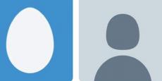 L'ancien avatar, à gauche, et la nouvelle silhouette, à droite.