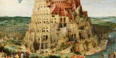 La Tour de Babel, tableaux de Pieter Brueghel