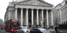 La Bourse Royale d'Angleterre à Londres