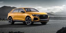 L'Audi Q8 doit faire entrer la marque aux anneaux dans l'univers des SUV coupés, véritable martingale de BMW, récemment reprise avec succès par Mercedes.