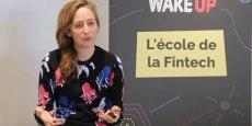 Céline Lazorthes, la fondatrice de la cagnotte en ligne Leetchi, est l'une des intervenantes à la formation Wake Up.