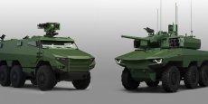 La Belgique a acheté 60 Jaguar et 382 Griffon à la France, via le consortium composé de Nexter, Arquus et Thales