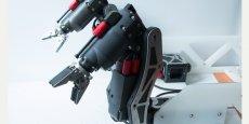 Le bras robotique dévoilé par OiS lors du récent salon professionnel de Southampton