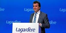 Arnaud Lagardère, lors de l'assemblée générale du groupe éponyme, en mai 2016.