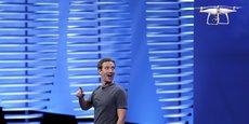 Mark Zuckerberg a profité de la conférence F8 pour présenter le nouveau modèle de drone développé par Facebook.
