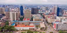 Gaborone, la capitale du Botswana.