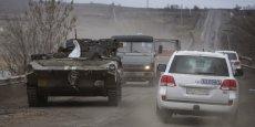 UN MEMBRE DE L'OSCE TUÉ DANS L'EST DE L'UKRAINE