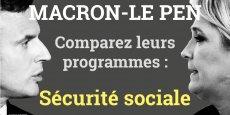 Plusieurs mesures d'économies proposées par Emmanuel Macron le sont également par Marine Le Pen, dont le développement des génériques, la vente des médicaments à l'unité.