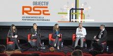Aurélie Armand (Kaliop), Christophe Rey (APF 34), Caroline Cazi (Montpellier Business School), Bernard Augé (Coop de France-LR et CIVL), et Anthony Rey (Objectif LR).