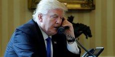 Donald Trump s'est entretenu avec les chef d'Etat mexicain Pena Nieto et canadien Justin Trudeau, mercredi.