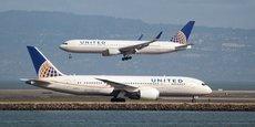 Sur les vols United Airlines, la surréservation peut concerner jusqu'à 3% de la capacité des appareils.