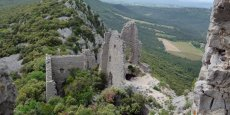 Le château de Montferrand, site majeur du Grand Pic Saint-Loup.