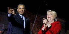 Les deux derniers candidats démocrates à l'élection présidentielle américaine ont vécu des dernières semaines bien différentes.