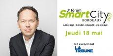 Directeur général de SNCF Gares & Connexions, Patrick Ropert sera l'un des invités du Forum Smart City Bordeaux, le jeudi 18 mai