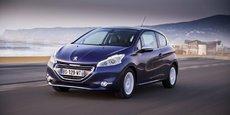 La 208 est une des voitures les plus vendues par Peugeot en Europe.