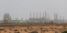 La raffinerie de Ras Lanouf en Libye a une capacité de production de 220 000 barils/jour.