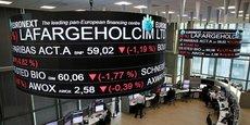 L'action LafargeHolcim a pris 0,6% à l'ouverture de la Bourse de Zurich mercredi.