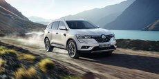 Le nouveau Koleos, reconfiguré pour être placé sur le segment D, doit permettre à Renault d'avoir une offre crédible sur ce segment très demandé à l'international, notamment en Chine.