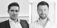Julien Daubert-Panasyuk et Cédric Montet, respectivement dirigeants des sociétés 10h11 et Libcast