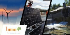 Lumo propose d'investir dans des projets solaires, éoliens ou hydroélectriques.