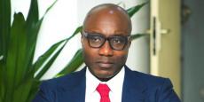Biendi Maganga-Moussavou, ministre de la promotion des PME, chargé de entrepreneuriat national du gouvernement d'Emmanuel Issoze-Ngondet