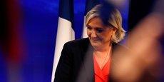 Vaincue, la candidate du FN se projette déjà vers les législatives. (Photo : Marine Le Pen, ce dimanche 7 mai 2017, au Chalet du Lac, dans le Bois de Vincennes, Paris 12e)