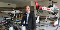 Henry de Plinval est le directeur du programme drones de l'Onera