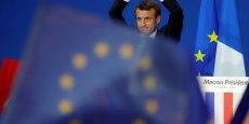 Lors de la campagne présidentielle, Emmanuel Macron s'est présenté comme le candidat défenseur de l'Union européenne.
