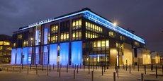 Le siège de la Banque populaire Aquitaine Centre Atlantique à Bordeaux.