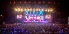 Vue du festival Mawazine