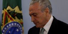 Après l'ouverture d'une nouvelle enquête de la Cour suprême dans l'affaire Petrobras, le président brésilien Michel Temer a exclu de démissionner.