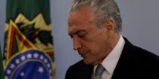 Michel Temer, président brésilien, sera présent au G20 cette fin de semaine, malgré les accusations de corruption.