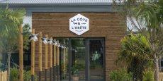 Devanture d'un des cinq restaurants de l'enseigne toulousaine La Côte et l'Arête
