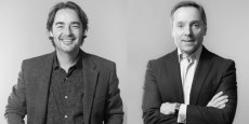 Olivier Ganivenq et Christophe Alaux, respectivement président du Conseil de surveillance et président du Directoire de Vacalians.