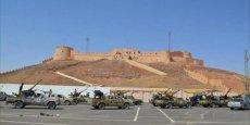 La base de Brak al-Shati se trouve à 50 km d'une autre base aérienne, contrôlée par la 3e Force, et qui avait été ciblée à plusieurs par les soldats du maréchal Haftar.