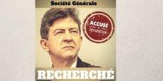 Le leader de la France Insoumise a lui-même annoncé, ce mercredi sur son blog, qu'il avait reçu la convocation d'un juge dans le cadre d'une plainte pour diffamation déposée par la Société Générale.