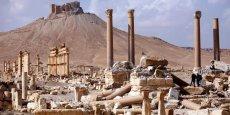 L'ARMÉE SYRIENNE PROGRESSE AU SUD-OUEST DE PALMYRE