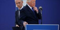 TRUMP ENGAGÉ DANS L'OTAN MAIS VEUT PLUS DE FONDS, DÉCLARE STOLTENBERG